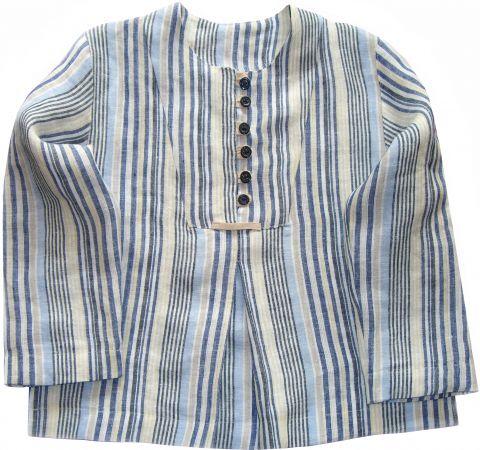 Freebook ELIA Puppen-Hemdchen Bluse