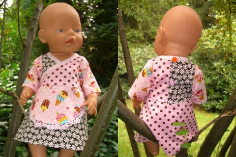 Freebook KATRIN Dress for Dolls