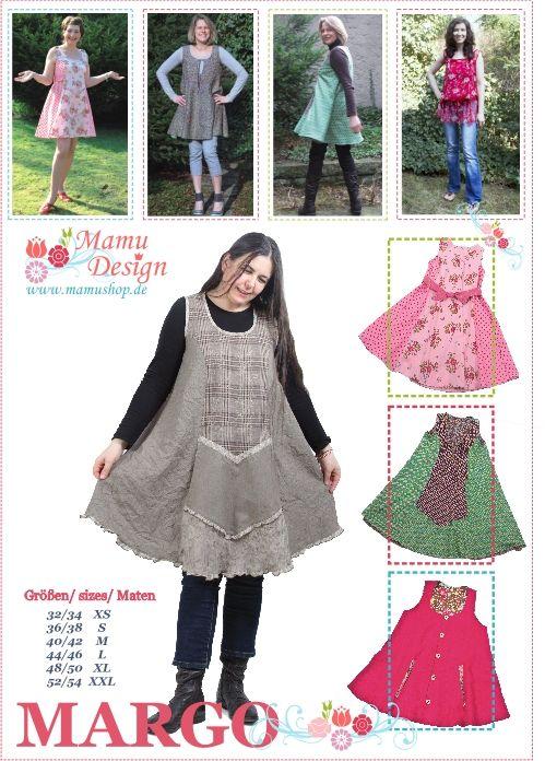 schnittmuster,schnitt,kleid,tunika,Margo,mamu,design - Mamu Design ...