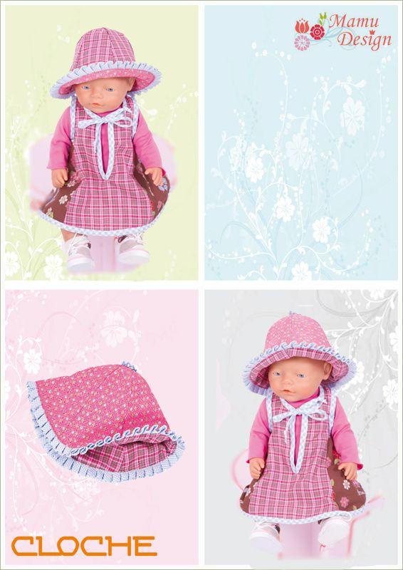 E-Book CLOCHE Wende - Hut Glockenhut Damen Mädchen Puppe - Mamu ...