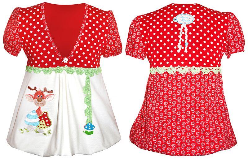 E-Book Schnittmuster ULLA Tunika Shirt Damen Maedchen