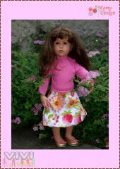 Freebook Rock Puppe VIVI...4 Dolls Only