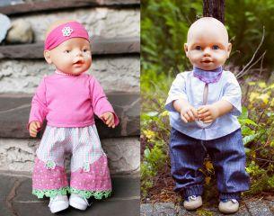 E-Book FELICITAS Hose Puppen - Mädchen und Jungs