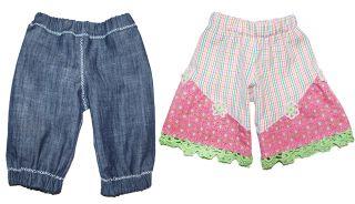E-Pattern FELICITAS Doll Trousers Pants