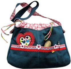 E-Pattern ALEXIA Bag Ladies and Girls