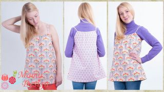 E-pattern Summer 4 Seasons Top for Ladies