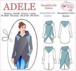 E-Book ADELE Schnitt(muster) und Nähanleitung Sweatshirt Langarmshirt Damen