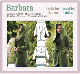 E-Book BARBARA Schnitt Jacke Mantel Damen