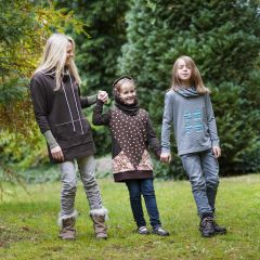 E-Pattern Women | Girls | Boys ANNE & GRETA - Sewing Instructions for Hoody, Sweatshirt, Longshirt
