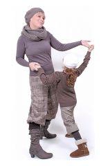 E-Book MOIRA Damen, Mädchen, Baby, Puppe Schnittmuster und Nähanleitung für Pumphose, lange und Dreiviertel Hose