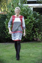 NIYA Damen Schnittmuster - Nähanleitung Kleid Sweatshirt Tunika
