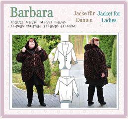 BARBARA Nähanleitung und Schnittmuster Jacke, Mantel, Wendejacke Damen