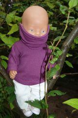ANNE & GRETA Schnittmuster Damen Mädchen Jungs Puppe Sweatshirt Langarmshirt