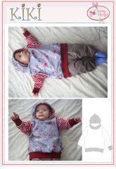 Schnittmuster KIKI Sweatshirt Langarmshirt Babys Jungen Mädchen