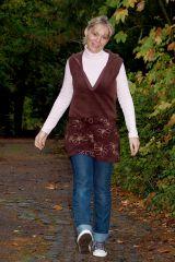Schnittmuster und Näh-Anleitung DEBORAH Sweat-Kleid, Sweat-Shirt für Damen