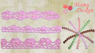 Freebook Crochet Lace Instructions 3 Variants