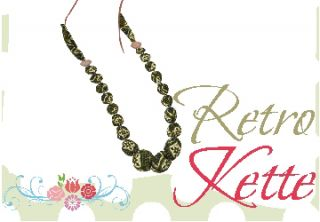 RETRO- NECKLACE, RETRO-KETTING, Freebook