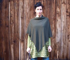 Freebook PONCHO for Ladies and Girls