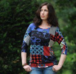 WILLI & ELLI Papier-Schnittmuster Shirt für Damen, Mädchen, Jungs