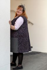LORELEI Schnittmuster Nähanleitung knielanges Kleid Tunika Damen
