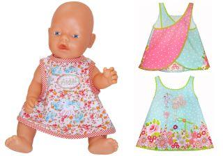 E-Book CHRISTINA Puppen Kleidchen Hängerchen