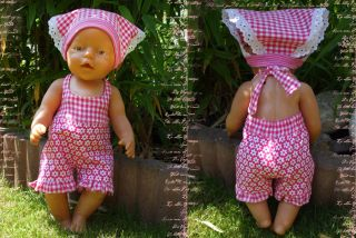 Freebook EMILY Dress for Dolls