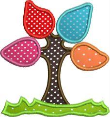 Appliquè Magic Tree for the Embrodery Machine