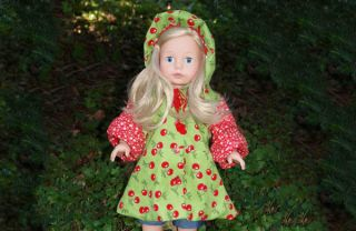 Freebook TAJA Jacket for Dolls