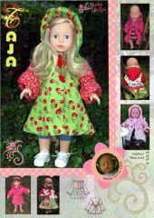 Freebook Jacke für Puppen TAJA