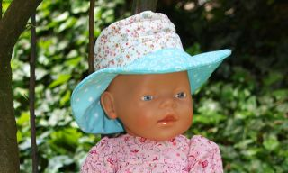 Freebook ELIN Hat for Dolls