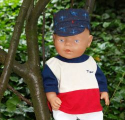 Freebook ELIN Hut  für Puppen