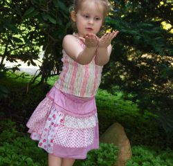 Sewing Instructions VIVI Skirt Grirls Doll