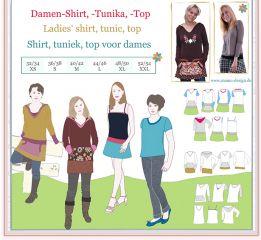 Sewing Instructions DEBORAH Pattern Sweat-Dress for Women